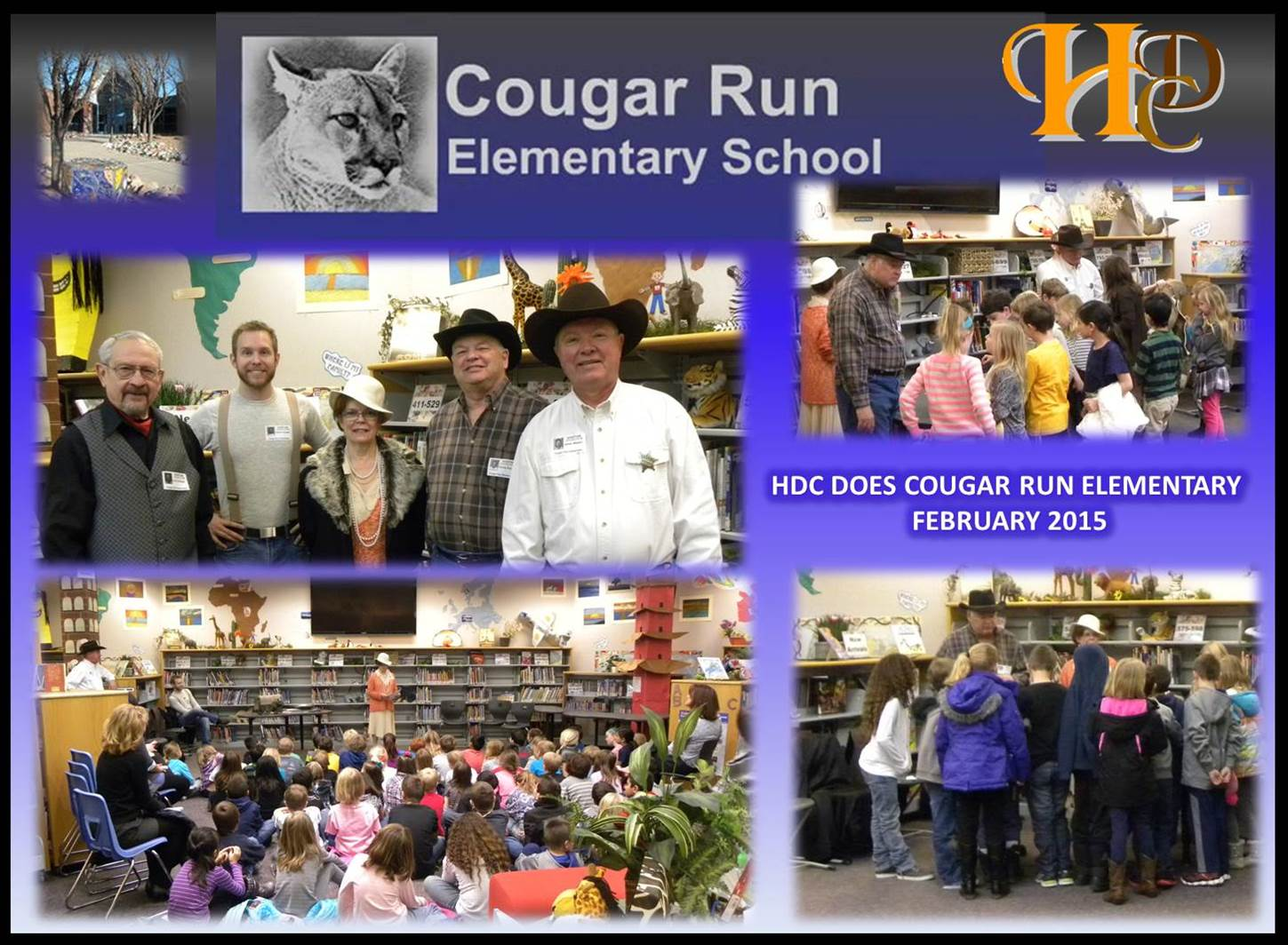 Cougar Run Elementary - Highlands Ranch - February 3, 2015