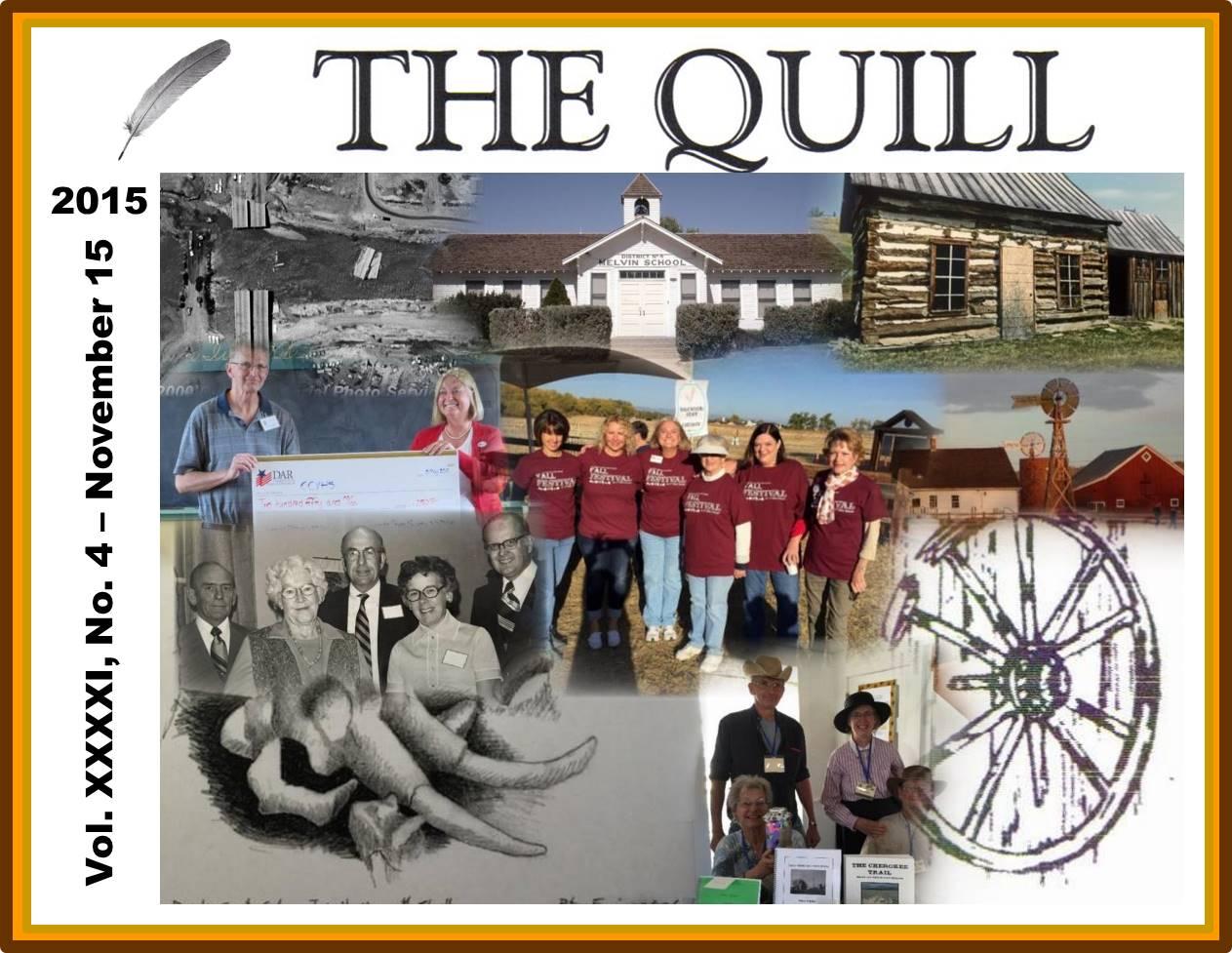 CCVHS Nov 2015 - The Quill