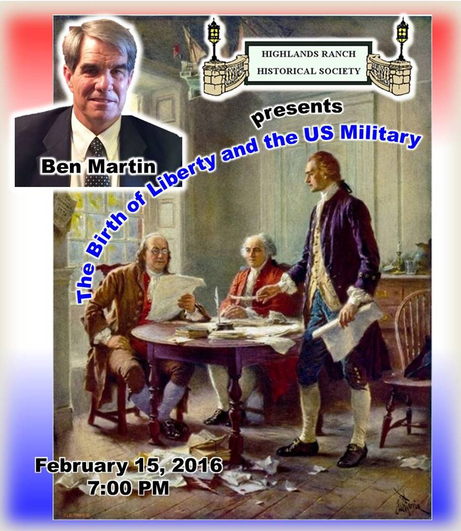 HRHS Birth of Liberty and the US Military Feb 16 2016