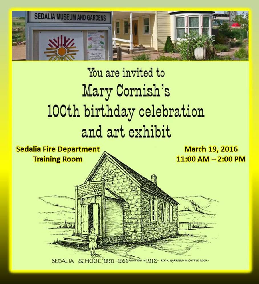Mary Cornish's 100th Birthday Celebration