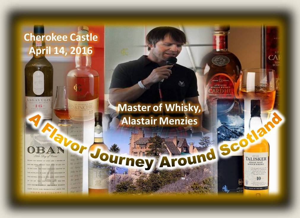 Scotch at Cherokee Castle April 2016