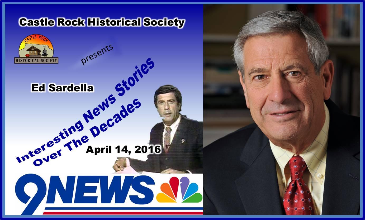 Ed Sardella - CRHS April 6, 2016