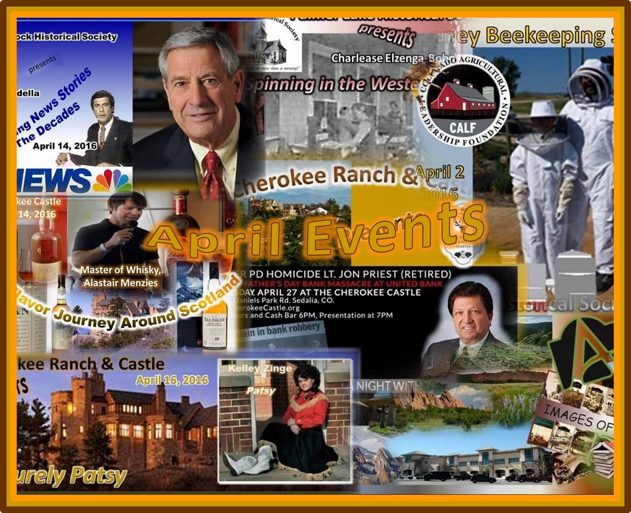 April 2016 Events Collage