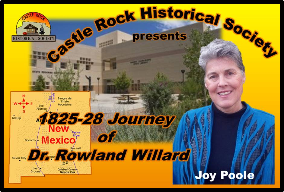 CRHS May 2016 Program - Joy Poole