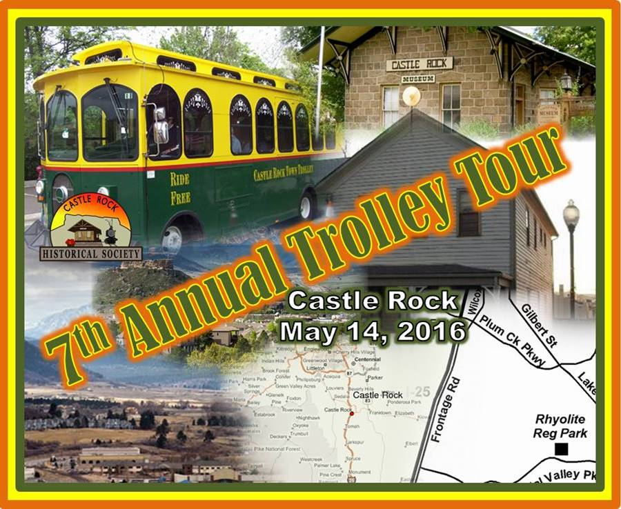 Castle Rock Trolley Tour May 14, 2016