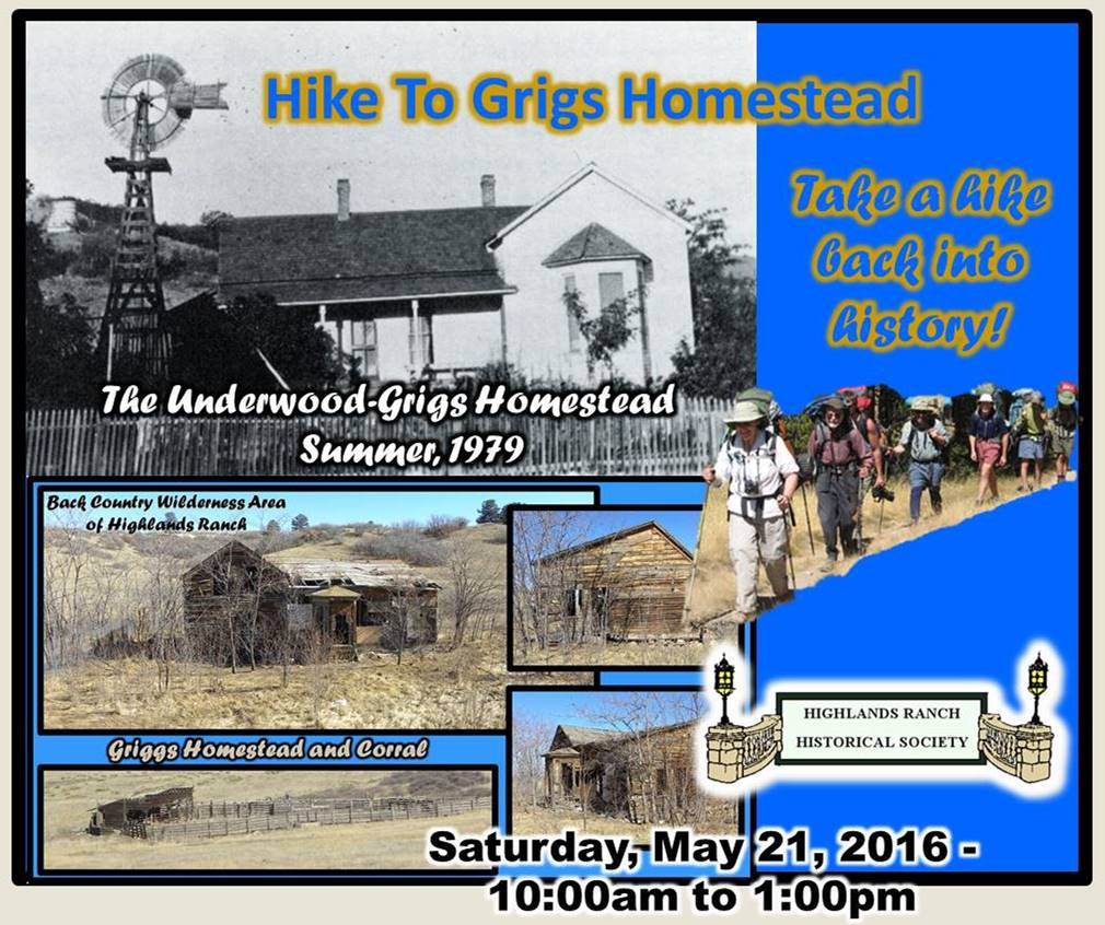 Highlands Ranch Colorado: Hike To The Grigs Homestead