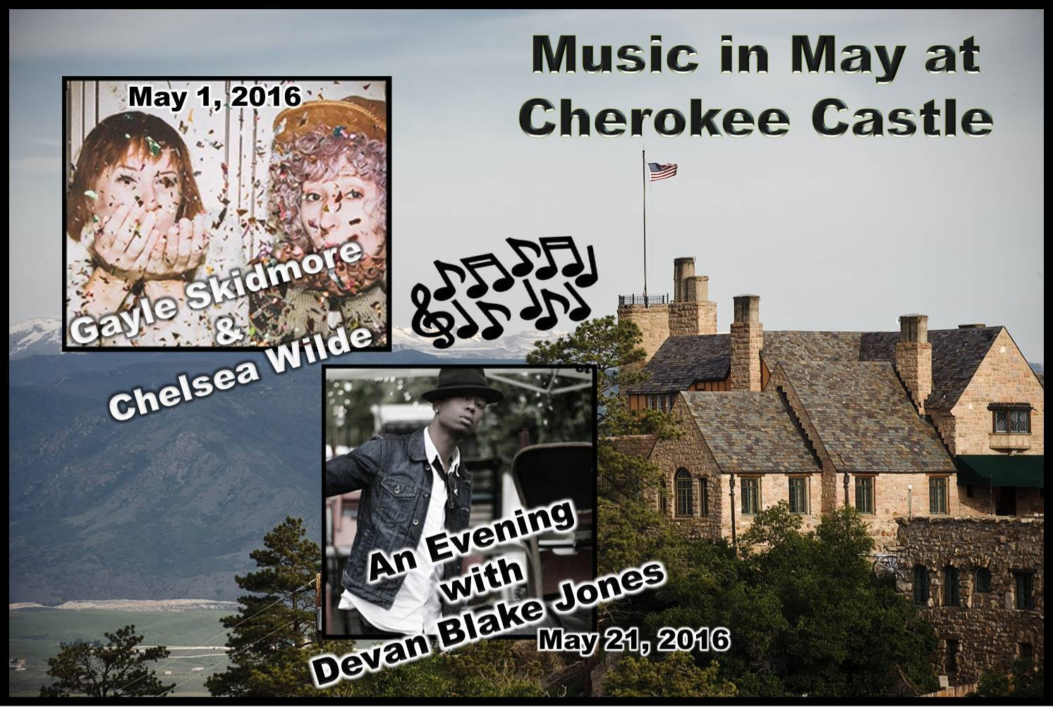Music at Cherokee Castle in May, 2016