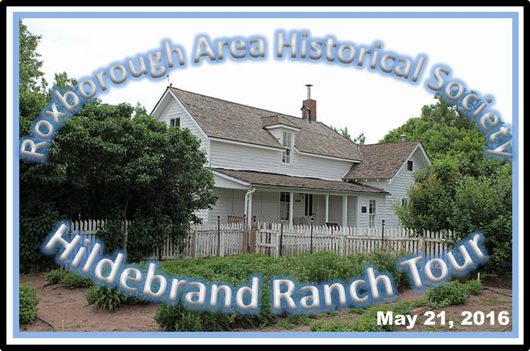 RAHS Hildebrand Ranch Tour May 21, 2016