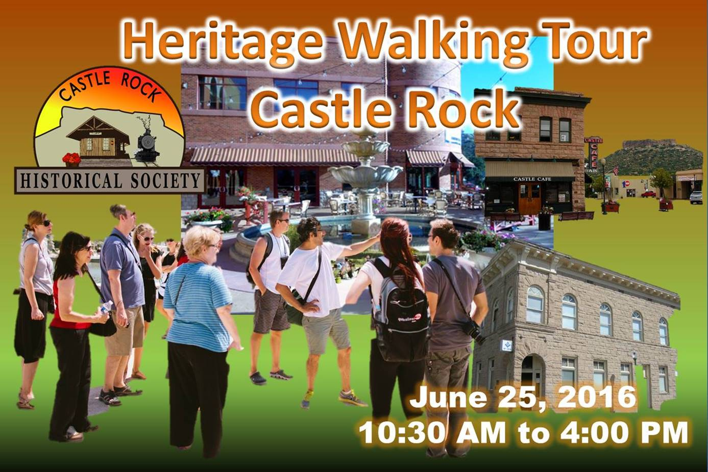 CRHS Heritage Walking Tour June 25, 2016