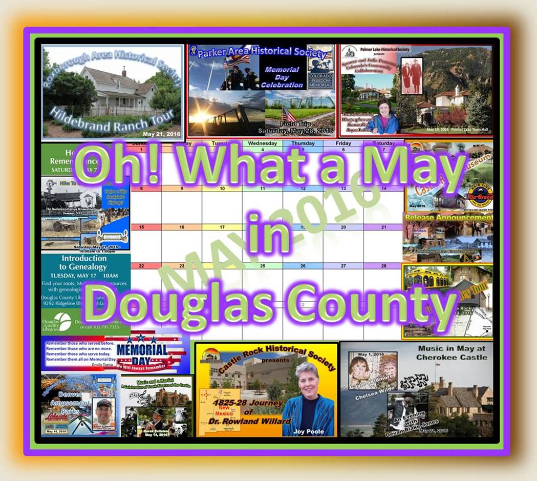 Oh What a May in Douglas County