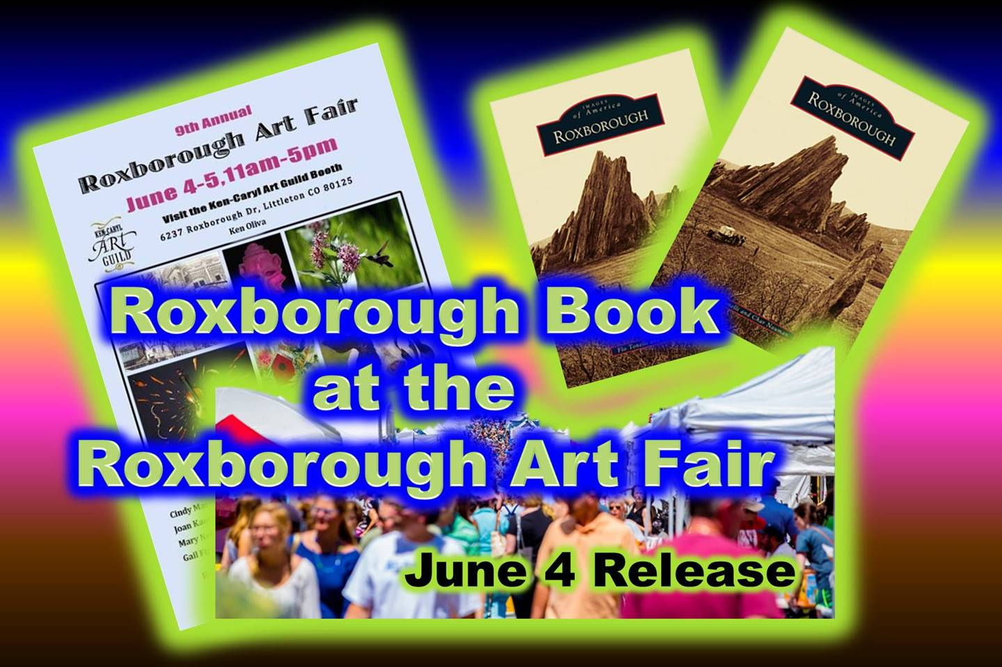 Roxborough Book Release at Art Fair 2016