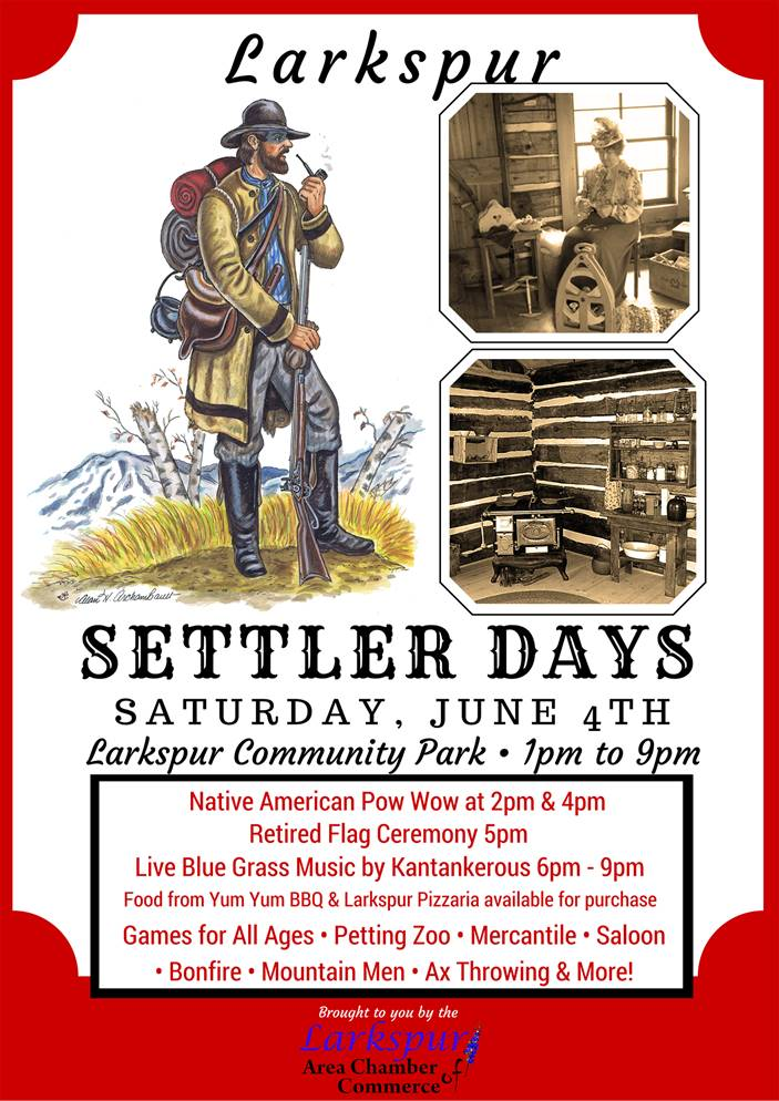 Settlers Day in Larkspur 2016