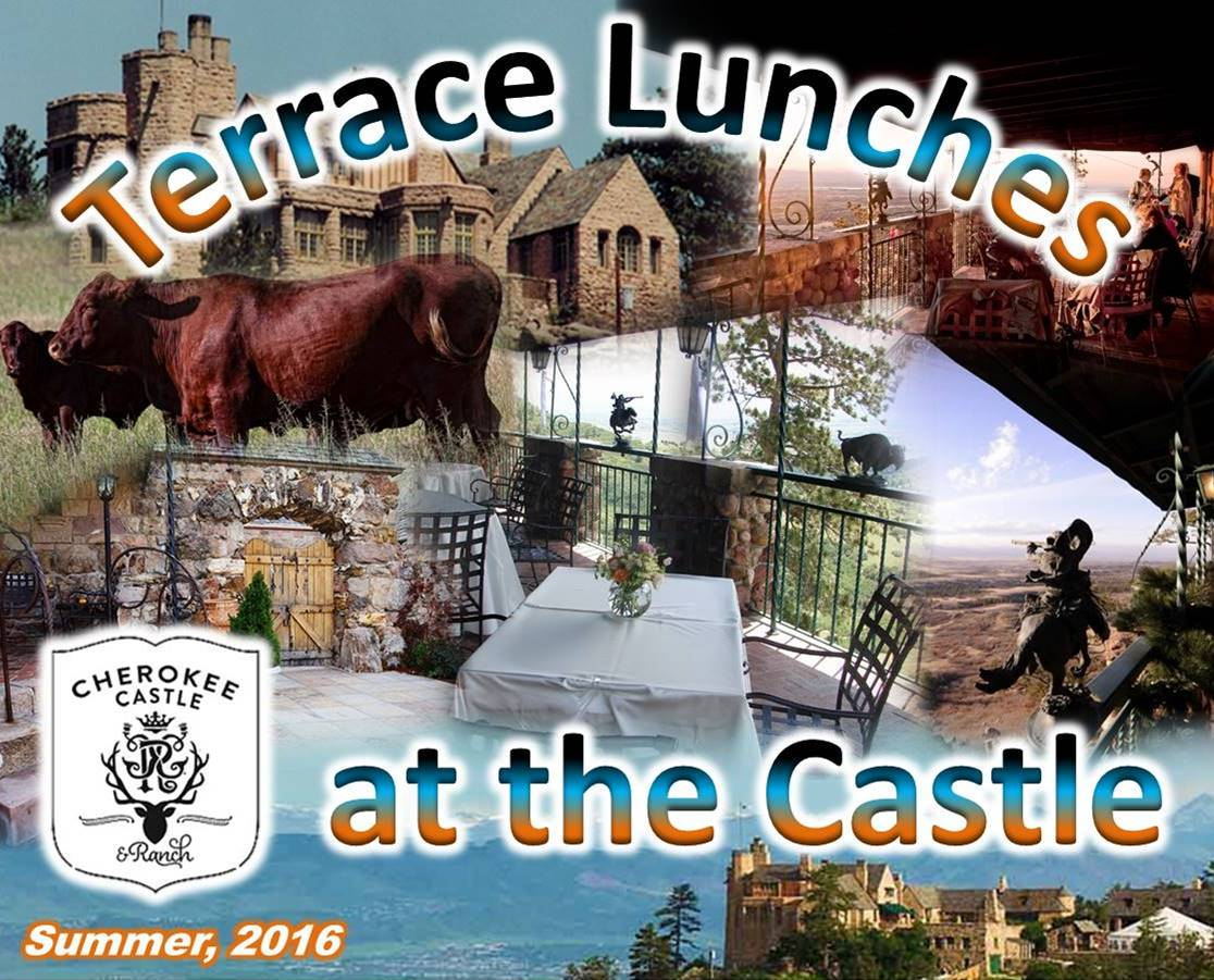 Terrace Lunches at Cherokee Castle Summer 2016
