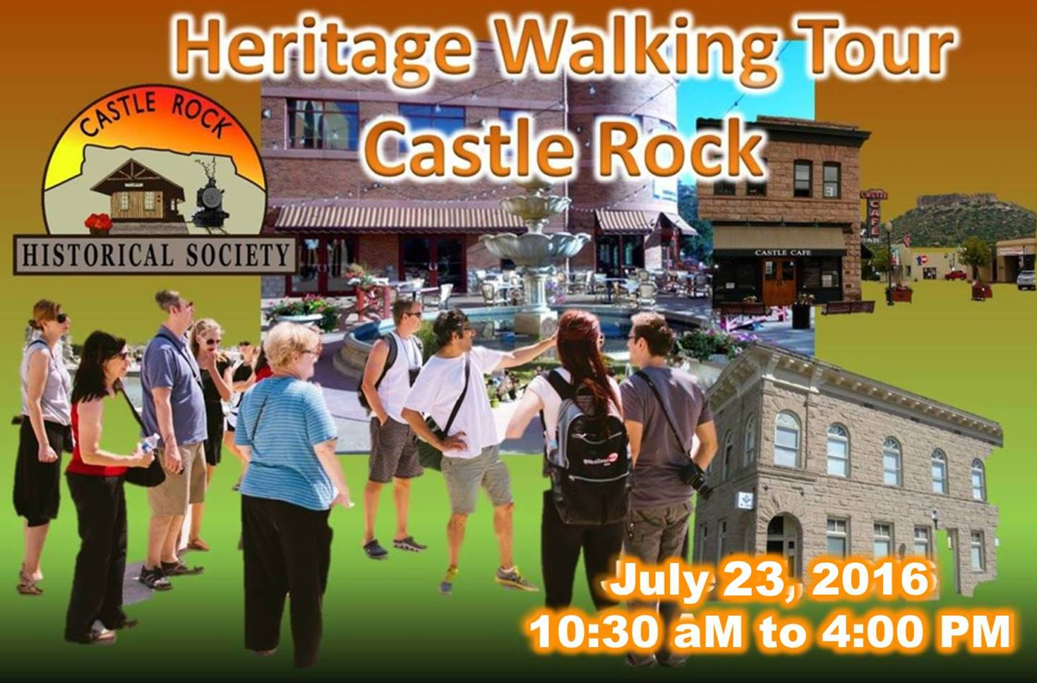 Castle Rock Walk July 23, 2016