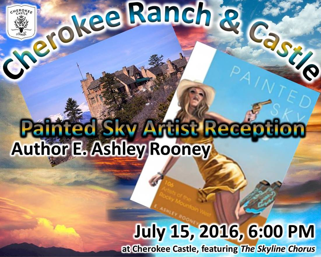 Painted Sky Artist Reception at Cherokee Castle July 15 2016