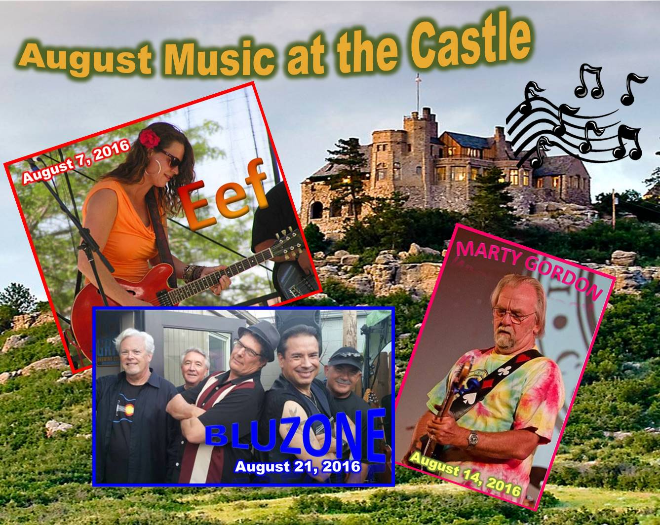August Music at the Castle 2016