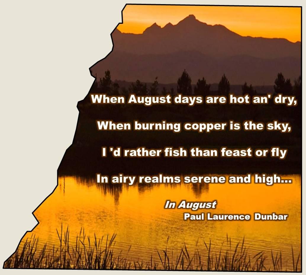August Poem 2016