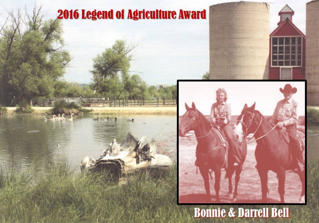 Bonnie and Darrell Bell 2016 CALF's Legend of Agriculture