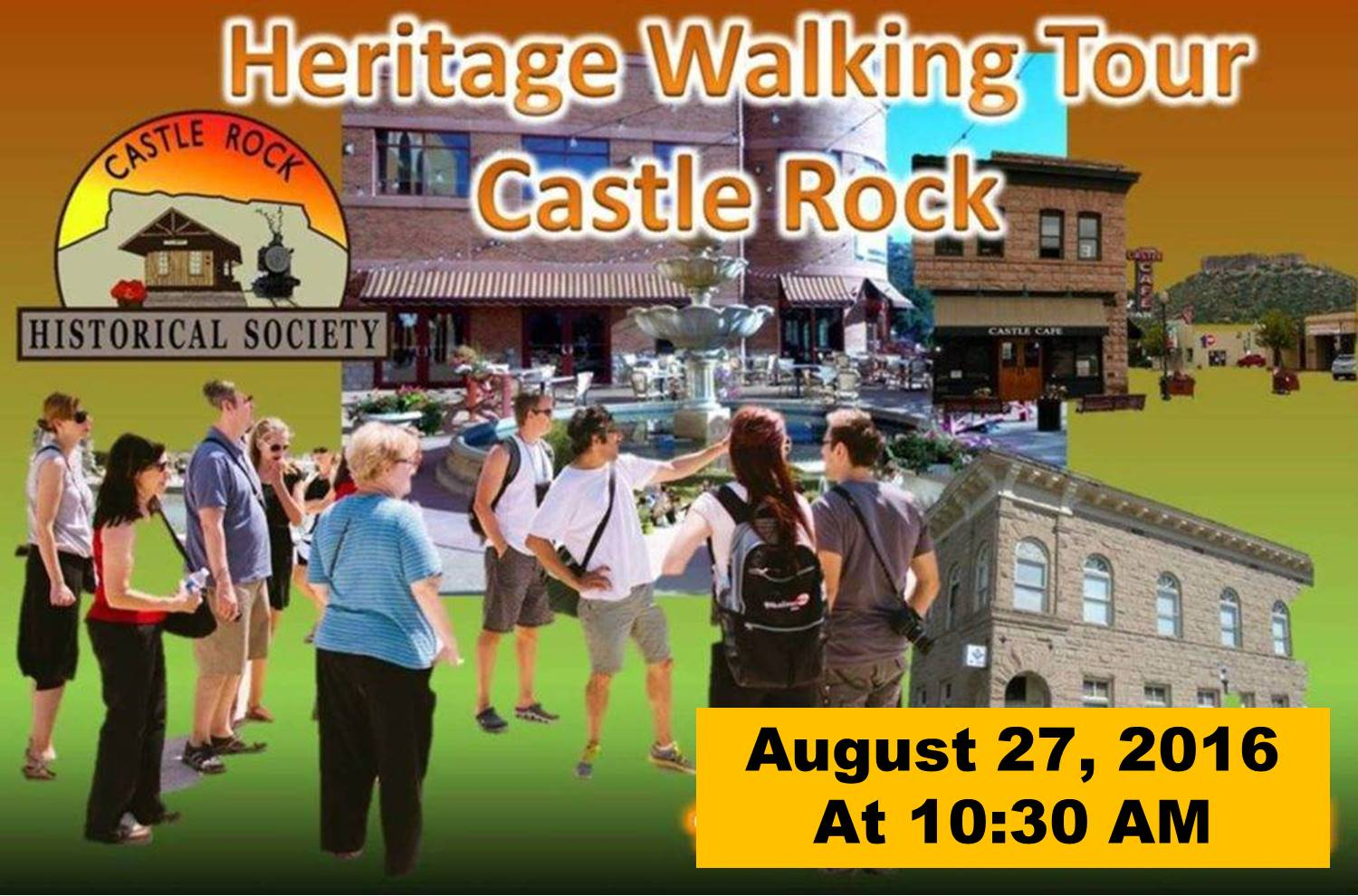 CRHS Walking Tour August 27