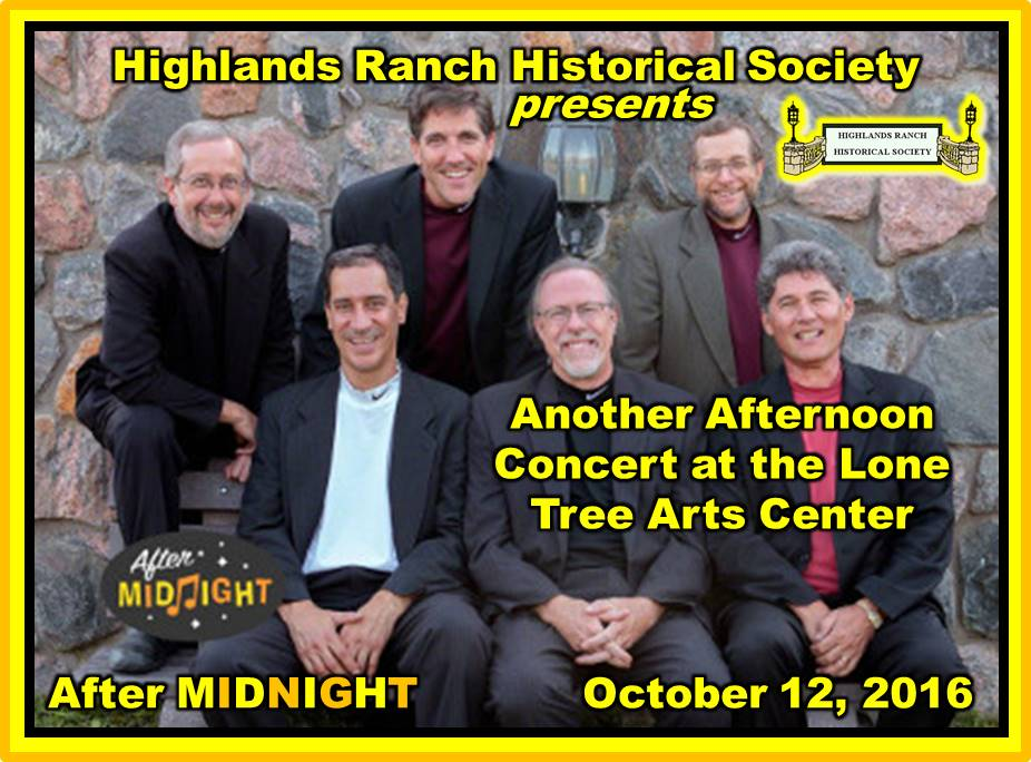 HRHS After Midnight Concert October 12, 2016