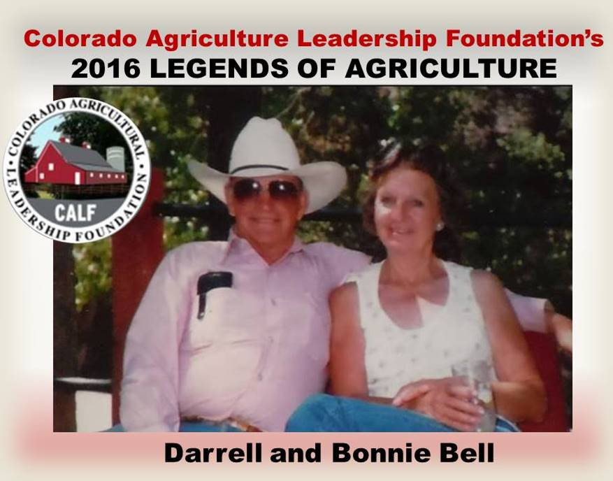 Legends of Agriculture 2016 Darrell and Bonnie Bell