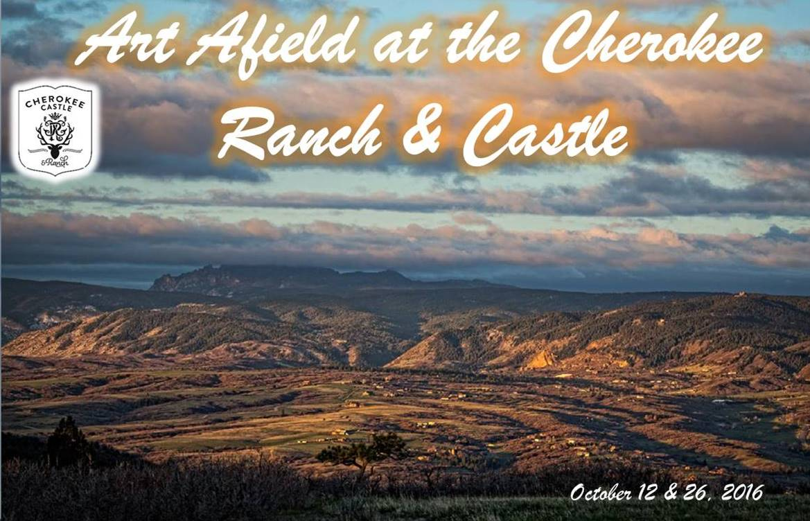 Art Afield at the Cherokee October 12 & 26 2016