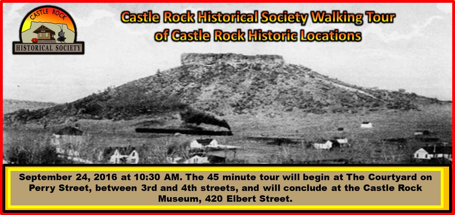 CRHS Walking Tour September 24, 2014