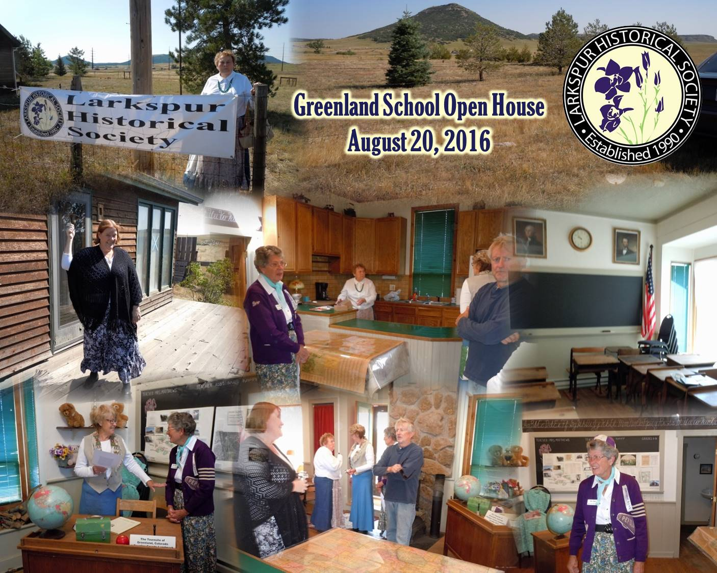 Greenland School Open House August 20, 2016 Larkspur Historical Society