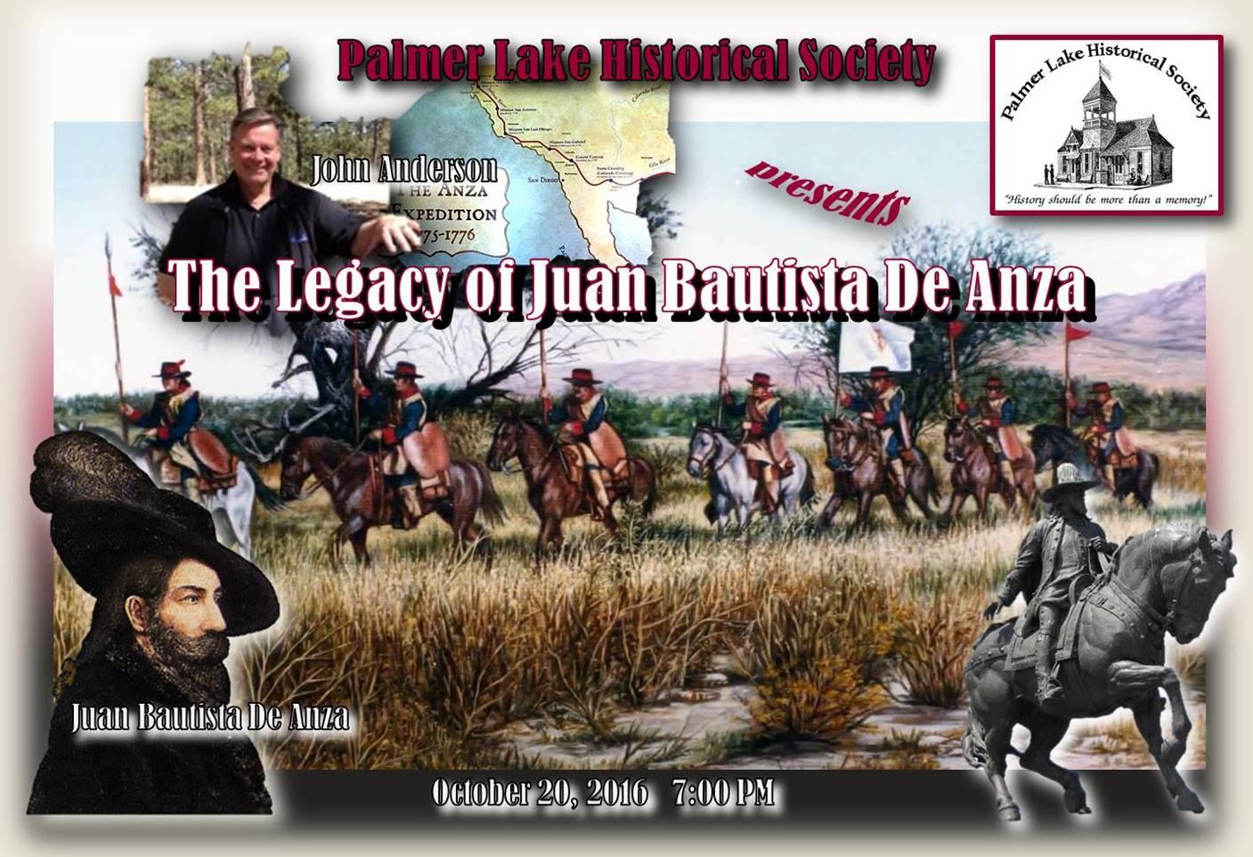 Legacy of Juan Bautista De Anza - John Anderson