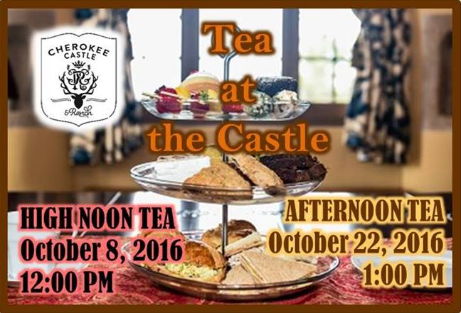 Teas at the Castle Oct 2016